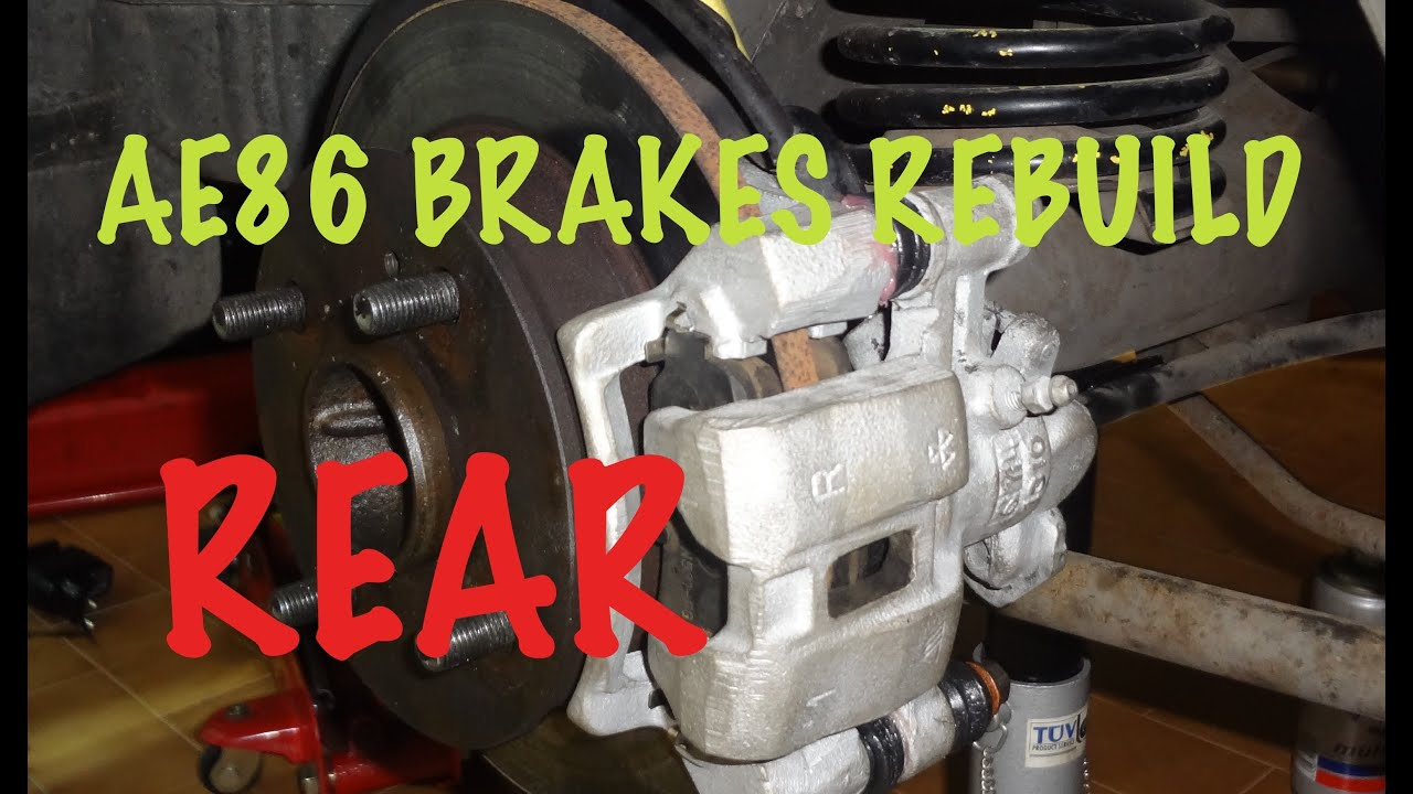 How To Rebuild Your Car Brakes 2 3 Rear Calipers 1987