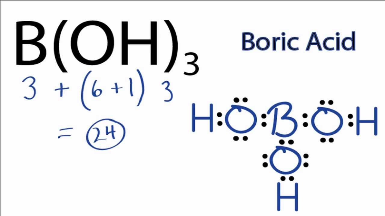 H3bo3 Lewis Structure  How To Draw The Lewis Structure For