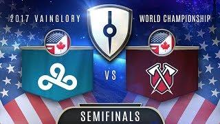 Tribe (NA) VS Cloud9 (NA) - Razer 2017 Vainglory World Championship - Semifinals