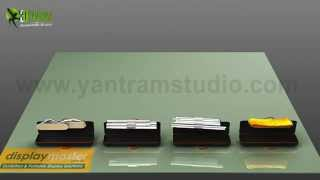 3D Product Modelling Animations for Exhibition - Portable Displays. video production