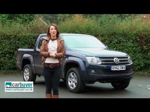 Volkswagen Amarok pick-up review - CarBuyer