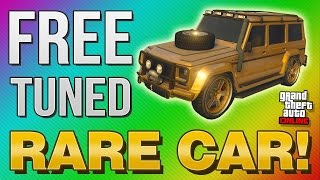 GTA 5 Online - FREE Fully Tuned RARE Vehicle! (GTA 5 Online Rare Cars)