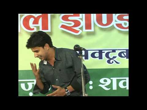 Nadeem Shad In Ujjain Mushaira-outstanding Performance... video