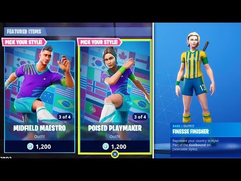 SOCCER SKINS RETURNING to Fortnite Battle Royale!
