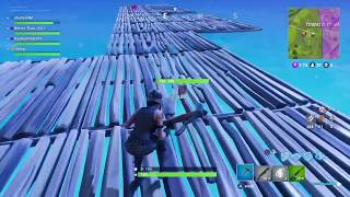 Fortnite Stairway to Heaven Win! (CRAZY!)