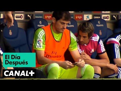 Hierro afrontó ante el Espanyol su primer partido al frente del equipo. Ayudado por Paul Clement, en él estaba un Casillas muy interesado por los resultados de la jornada y un Coentrão muy...