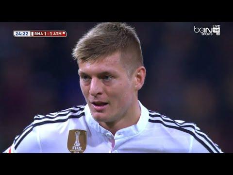 Toni Kroos vs Atlético Madrid (H) 14-15 720p HD
