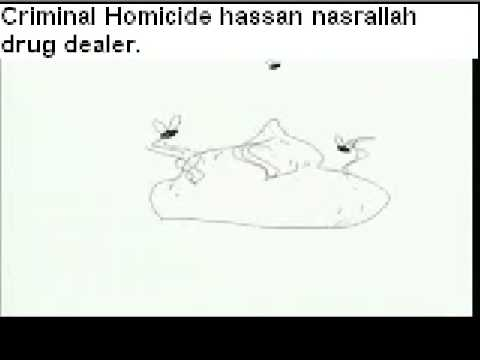 hezbollah and hamas a terrorist gang sold drugs (Mexico: Alerta Pueblo Mexicano) Video