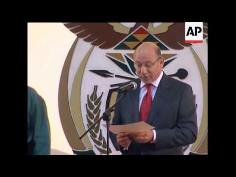 Zuma's new government sworn in, comments from new ministers
