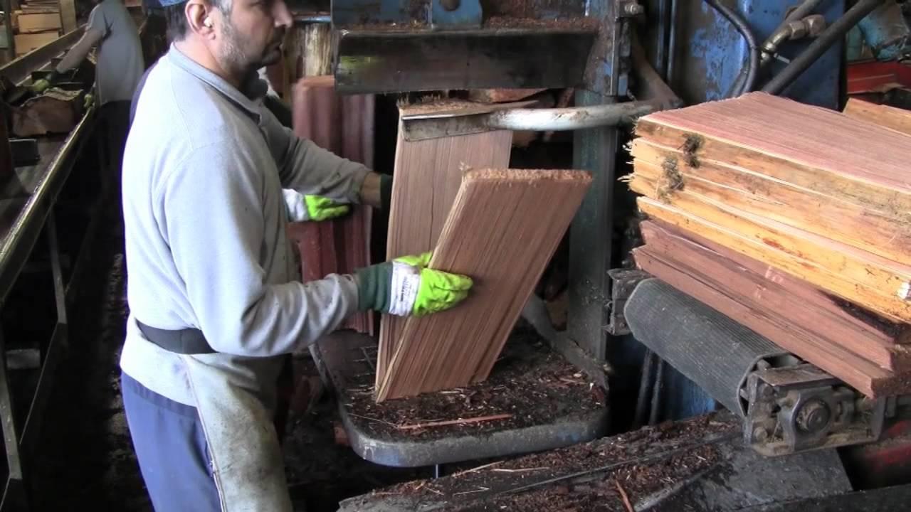 Producing Red Cedar Hand Split Amp Resawn Shakes By