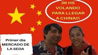 China: 36 hs de viaje para llegar a Beijing!!! (Maxi con Mochila)
