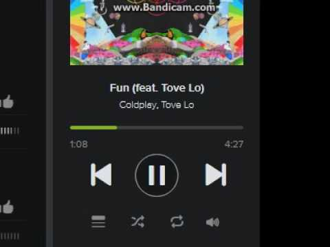 Coldplay - Fun