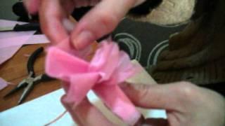 ramo de flores con billetes.wmv