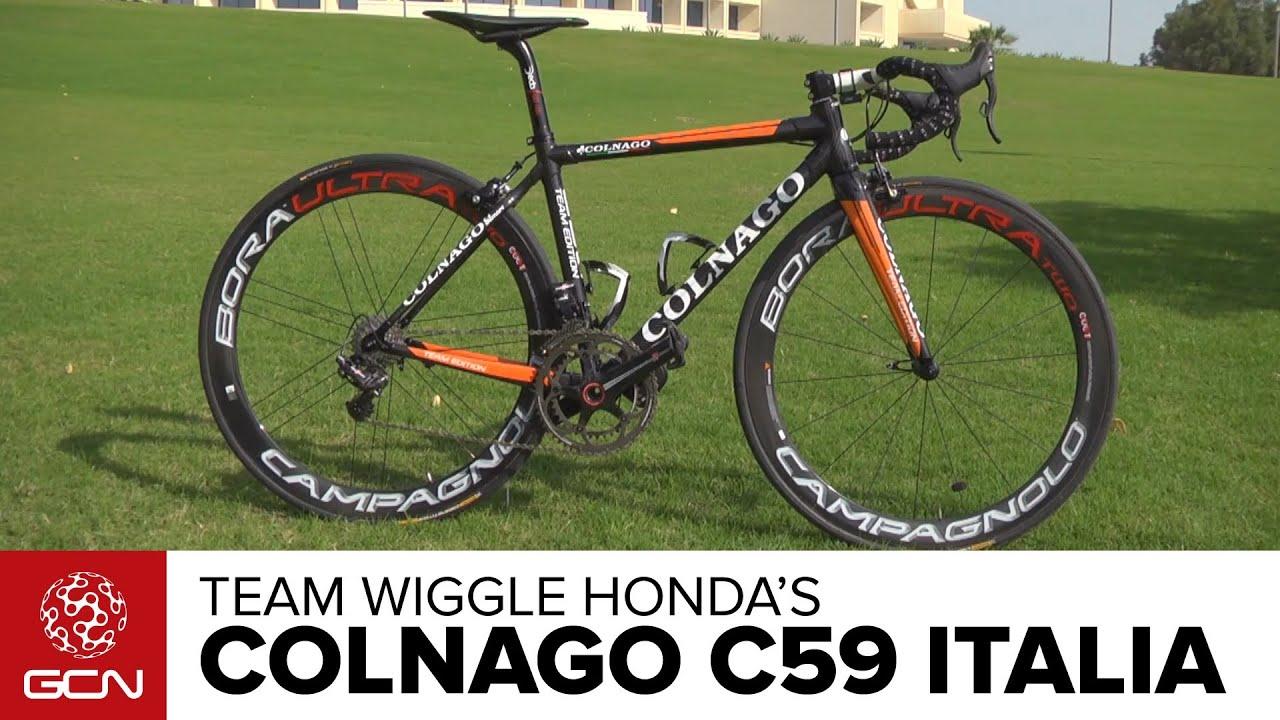 Wiggle Honda Colnago C59 Italia Bike Profile Youtube