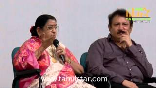 Playback Singer P Susheela Press Meet