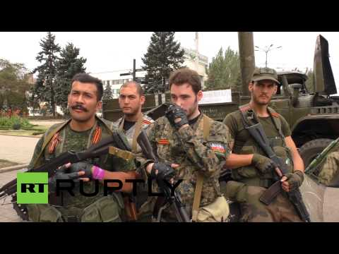 French Donbass fighters: We came to inform people of the reality of this war
