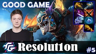 Resolution - Slark Safelane | GOOD GAME | Dota 2 Pro MMR Gameplay #5