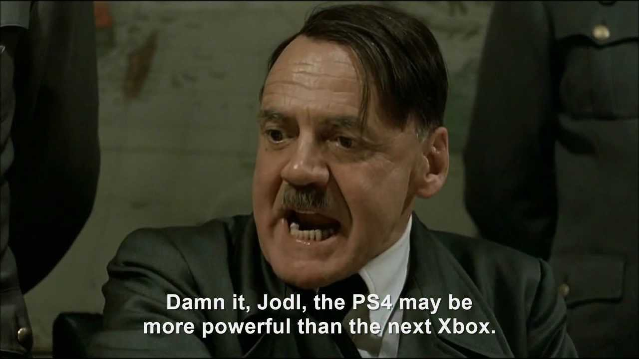 Hitler plans to buy the PlayStation 4