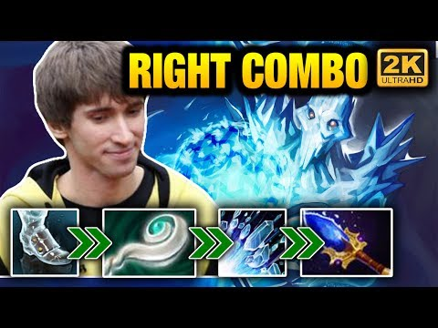 Dendi Ancient Apparition Amazing Support Play - Better than Carry Dota 2