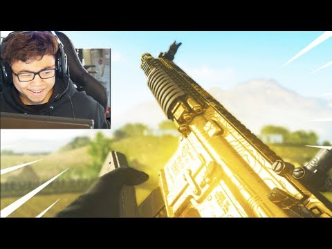 the GOLDEN M4A1.. (ROAD TO DEMARCUS in MODERN WARFARE)