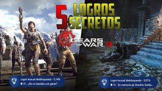 Gears of war 4   5 Logros SECRETOS QUE NO SABIAS QUE EXISTÍAN EN EL JUEGO ¿Como desbloquearlos?