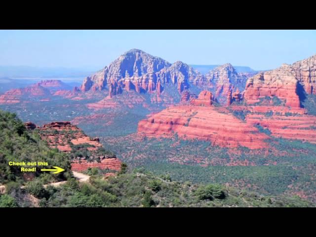 Schnebly Hill Scenic Drive - Sedona, Arizona
