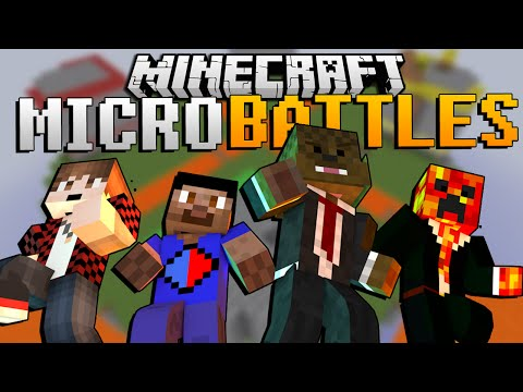 EPIC Minecraft MICRO BATTLE PVP w/ The Pack!