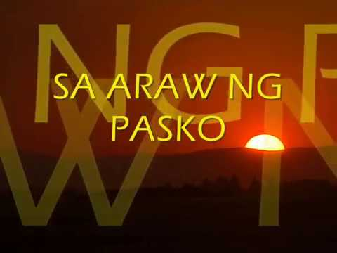 Sa Araw Ng Pasko By: All Star Cast video