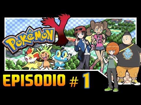 Guida Pokemon Y Parte 1 Inizia Lavventura Froakie Scelgo Te