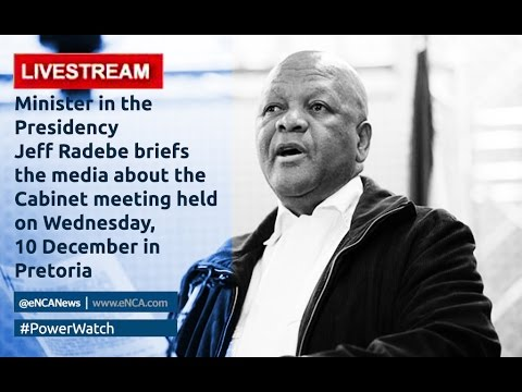 LIVE: Post-Cabinet media briefing