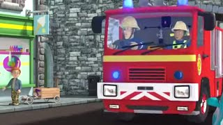 Fireman Sam US ⭐️ Sam's Firetruck Adventure! | Fire Rescue | Best Rescue Compilation 🔥Kids Movies