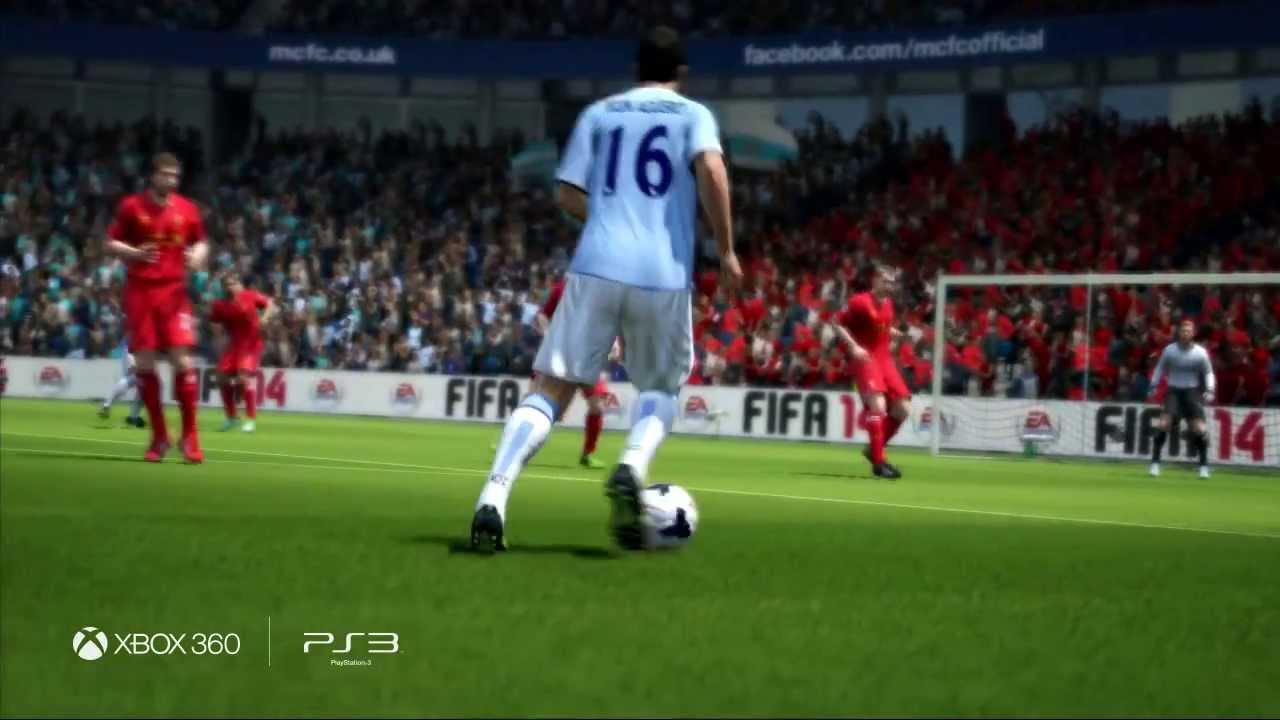 FIFA 14 - Безупречный удар и Реальная физика мяча - YouTube