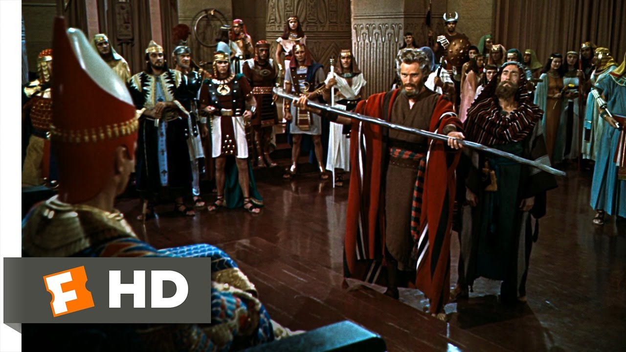 Let My People Go The Ten Commandments 1 10 Movie Clip