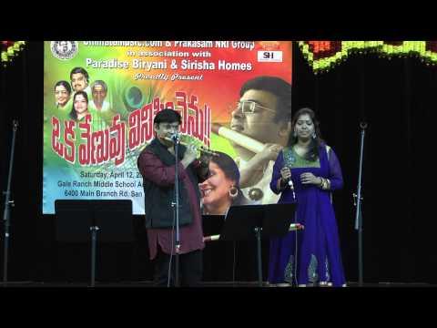ChimataMusic Oka Venuvu Vinipinchenu (Flute Nagaraju Concert...