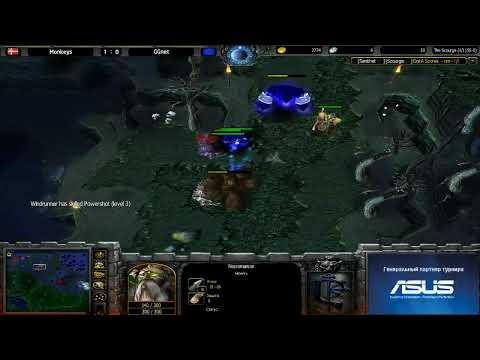 Monkeys vs GGnet @ ICS9 GroupStage 3 Game 2