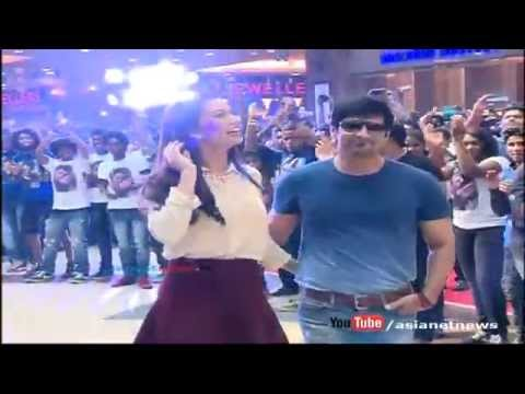 Ai Film: Vikram and Amy Jackson dances in Kochi