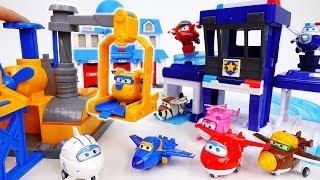 Super Wings Pop Transform Playset~! Help Us Robocar Poli - ToyMart TV