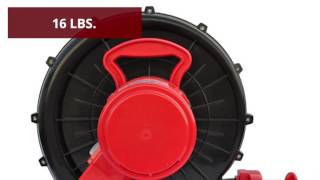 XPower Inflatable Blower - 1 HP, 1,000 CFM, Model# BR-252A
