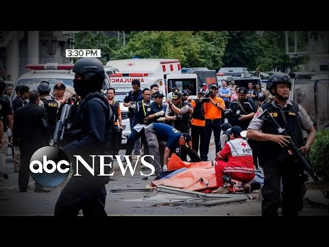 ISIS Claiming Responsibility for Terror Attacks in Indonesia