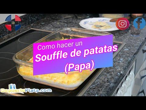"""Como hacer un """"Souffle de patatas"""", Rápido y Fácil."""
