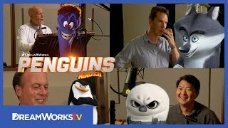 Behind the Scenes With The Cast: Cumberbatch, Malkovich and MORE! | PENGUINS OF MADAGASCAR
