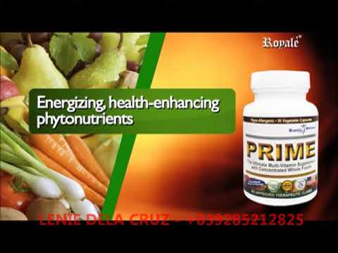 ROYALE PRIME THE ULTIMATE ORGANIC MULTI VITAMINS