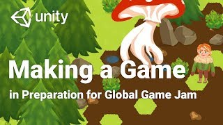 Making a 2D Game in Unity in 2 Days! | Preparing for Global Game Jam