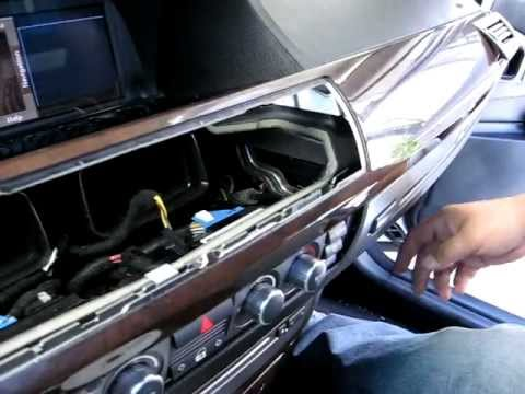 How to Remove Radio / Stereo / Navigation / CD from 2006 BMW 750i for Repair
