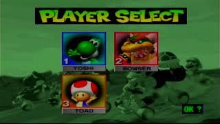 Mario Kart 64 (Wii Virtual Console): 3-Player Battle - 16 Matches
