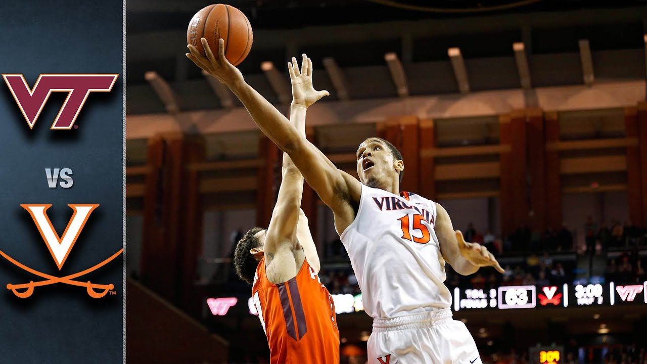 Virginia Tech vs. Virginia Basketball Highlights (2015-16)