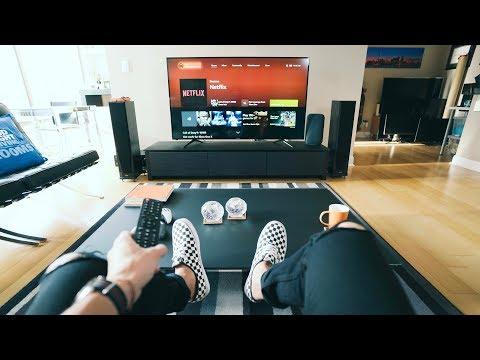 Ultimate 4K TV Setup - 2018 Tech Living Room Tour