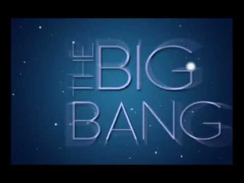the Big Bang Theory (kinetic typograhpy)