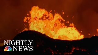 Lava Bomb Injures 23 People On Hawaii Tour Boat | NBC Nightly News