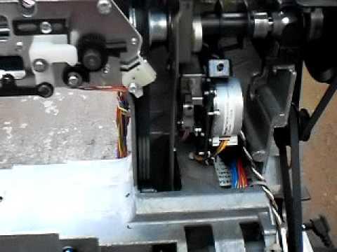 Funcionamiento de una máquina de coser